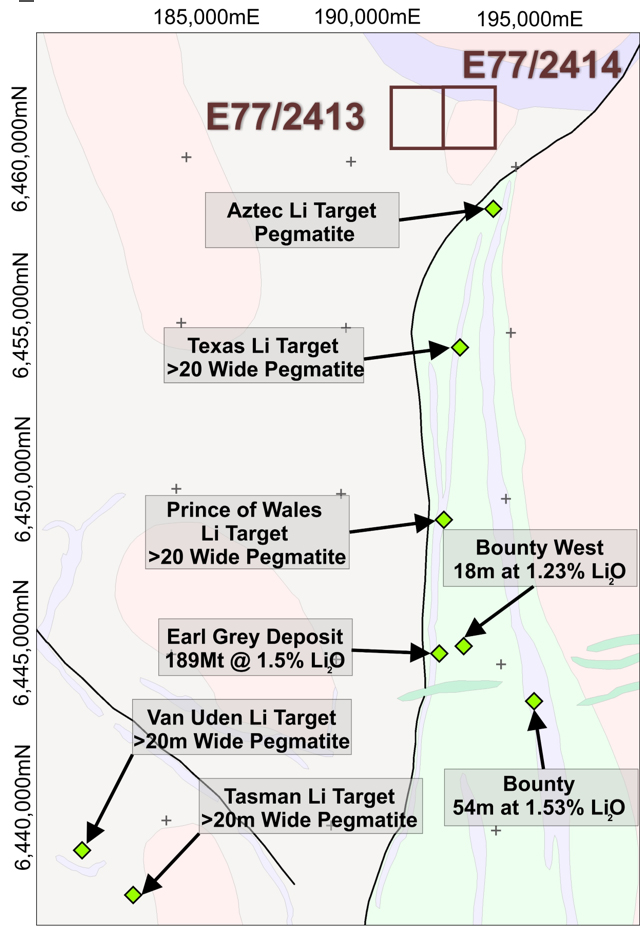 Aztec Project Geology and Proximal Targets/Deposits